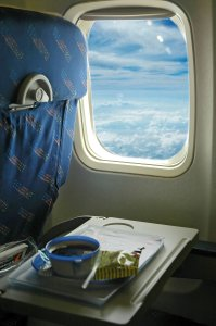 Airline Seat & Tray Table